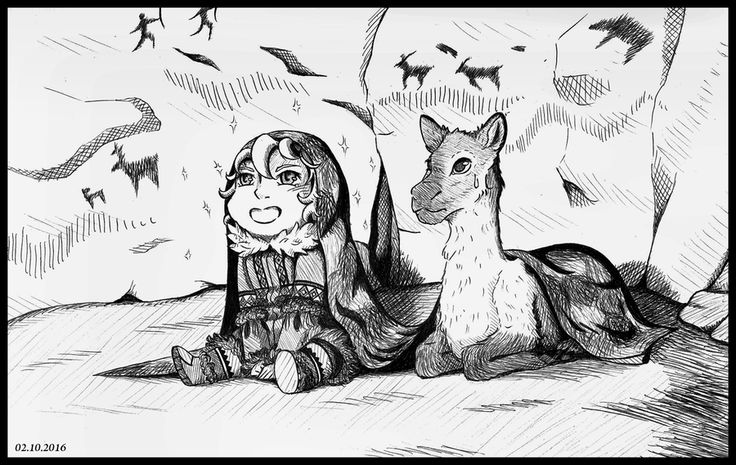 Inktober #2: Listen to the story by Kei2000 on DeviantArt