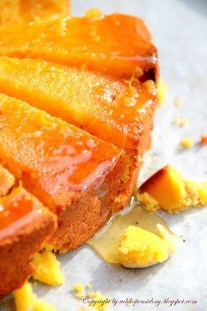Bobota lub greckie ciasto cytrusowe - przepisy.net