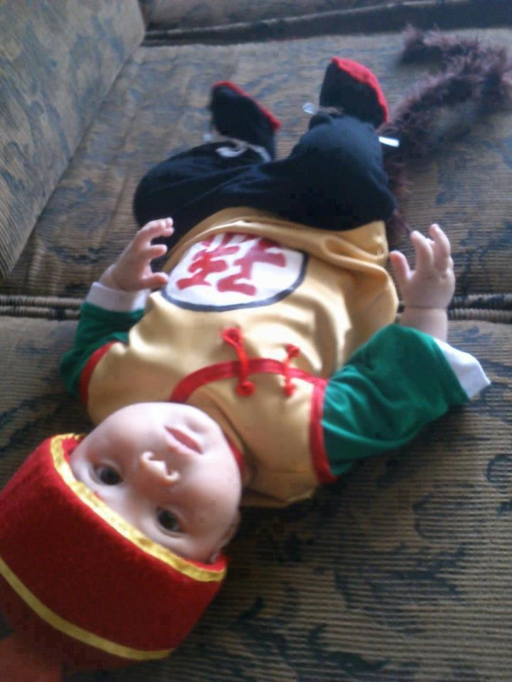 Omg I'm gonna do this to my child and he is gonna love it lol
