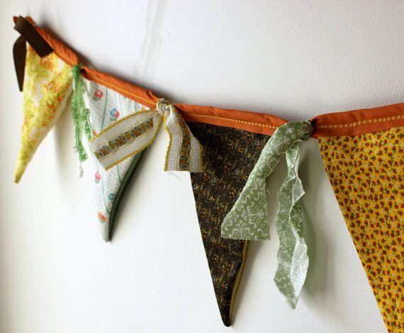 Fabric Bunting - LOVE!!