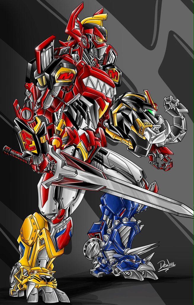 Power Rangers Megazord (it's a lot more badass then I remember...)