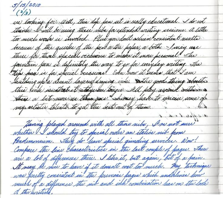 134 Best Images About Handwriting Samples On Pinterest