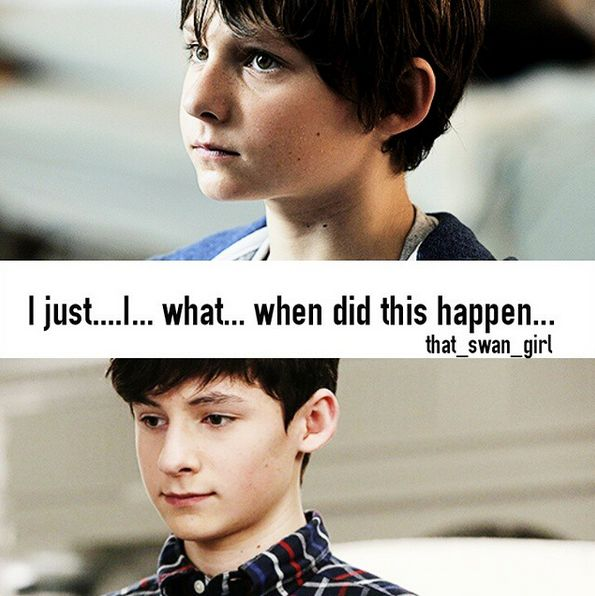 i remember in season 3B i heard his voice in one scene-all grown up- and i was completely shocked he is the same boy i saw in season 1! Glad to know I'm not the only one!