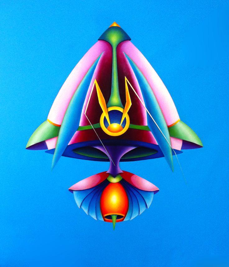 Feelers, 2011, olio e acrilico su tela, 130x120 cm - Ignazio Mazzeo #art #pinting #ignaziomazzeo #colours #nature