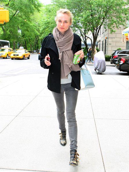 Diane Kruger_Vaqueros y fular