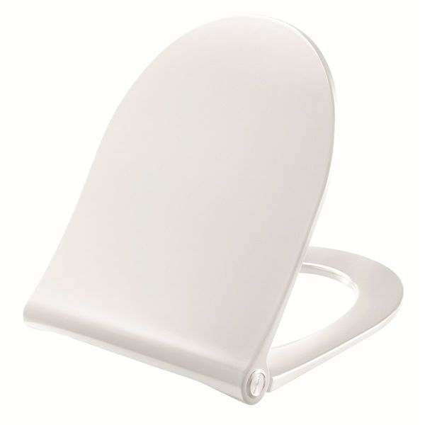 Pressalit Sway Toilet seat. Toilet seat with soft close and lift-off incl. hinge in stainless steel    #pressalit #seats #toiletseats #danishdesign #bathroom #bathroomdesign #bathroomideas #design  #designideas