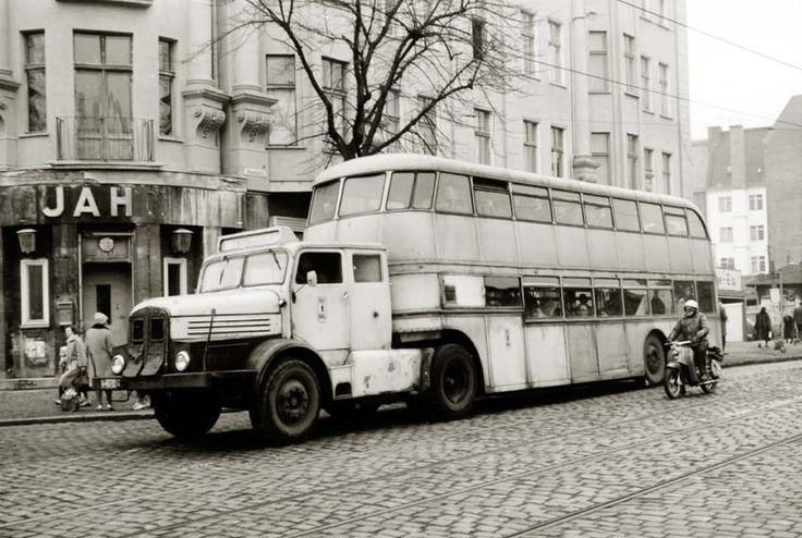 ifa h6 sattelschlepper in berlin ost double decker busses pinterest ddr fahrzeuge lkw. Black Bedroom Furniture Sets. Home Design Ideas
