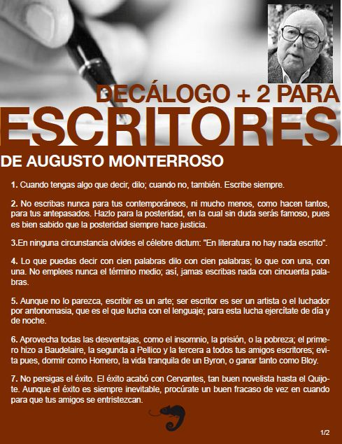 de Augusto Monterroso (ParteII).