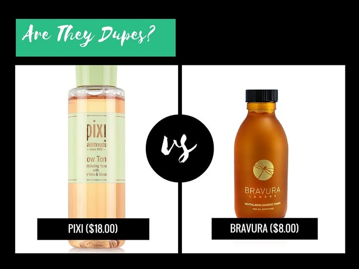 Is Bravura London Revitalising Ginseng Toner With Glycolic Acid 5% A Dupe For Pixi Glow Tonic?