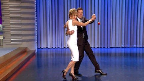 Chatter Busy: Jimmy Fallon Keeps Word And Dances With Jennifer Lopez (VIDEO)