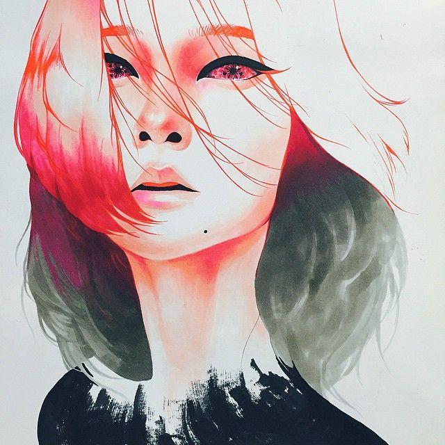 Korean artist Minjae Lee aka Greno |  #Yellowmenace #KoreanArt |  ● http://yellowmenace.tumblr.com/post/138596719651
