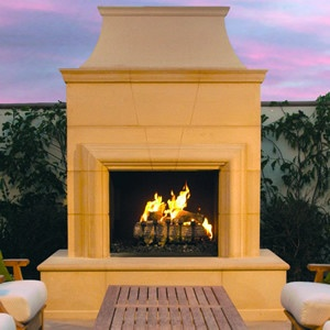 Prefab Outdoor Fireplace Prefabs Pinterest