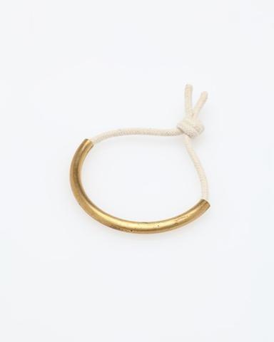 Maslo Jewelry / The Brass Age Bracelet White