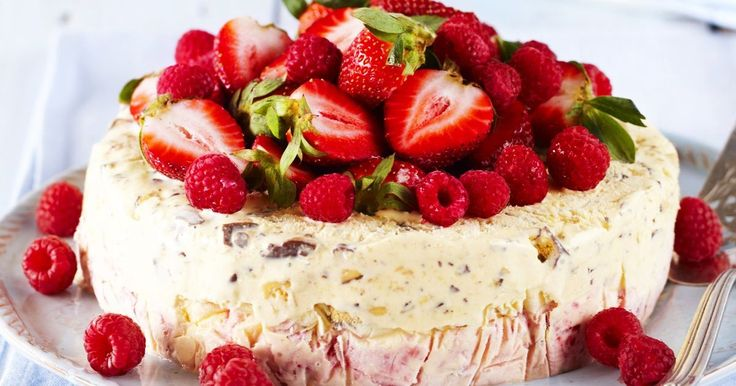 You'll be using any celebration as an excuse to make this tasty berry ice-cream cake.