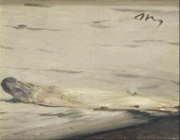 Эдуард Мане. Спаржа. 1880. Музей Д'Орсе.