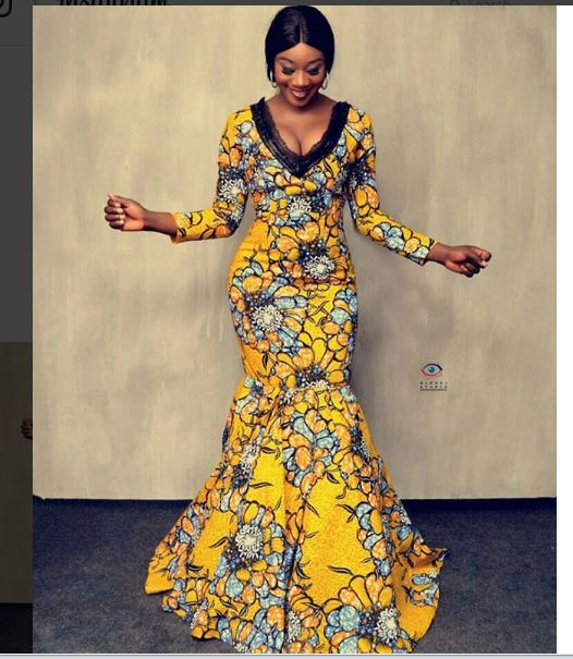 Lovely Ankara Stylish Long Gown Designs for Beautiful Ladies