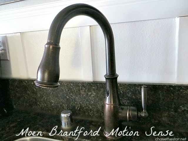 The Beautiful #Moen Brantford Motion Sense #Faucet @Moen @Nbsupply