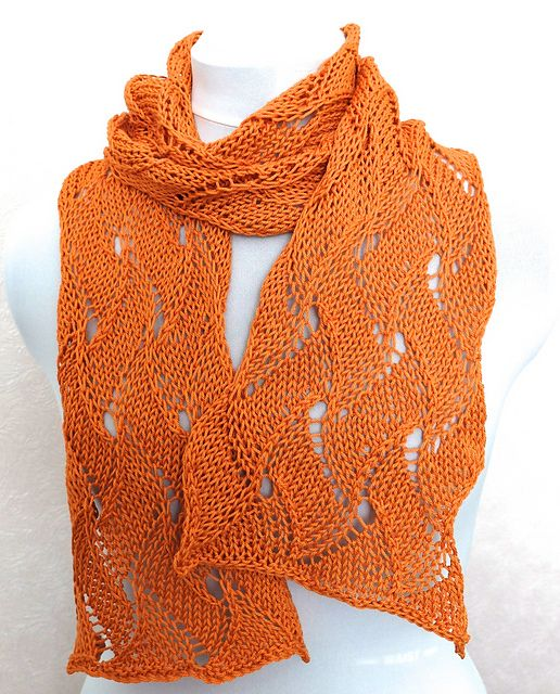 Ravelry: KnitPic Lace Scarf pattern by Angelcatkins (Elizabeth Watkins) Designs.  Pattern available to download from Sunday 8th June 2014 {free}.