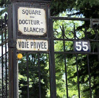 Le square du Docteur-Blanche  (Paris 16ème)