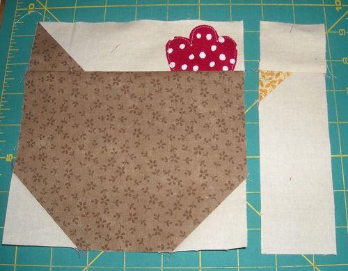 Sew Inspired: Chicken Quilt Block Tutorial