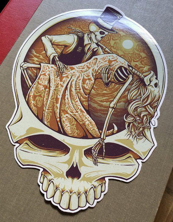 One Last Dance - Fare Thee Well Grateful Dead  |  Die-cut Vinyl Sticker