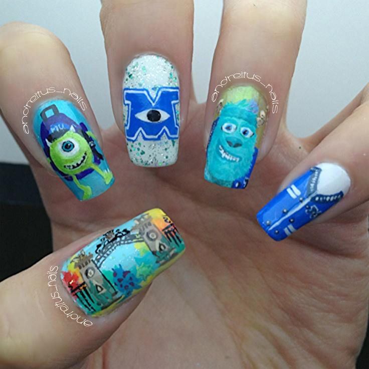 Mejores 115 imágenes de Nails en Pinterest | Diseños de uñas, Fotos ...