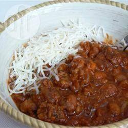 Photo de recette : Chili de porc