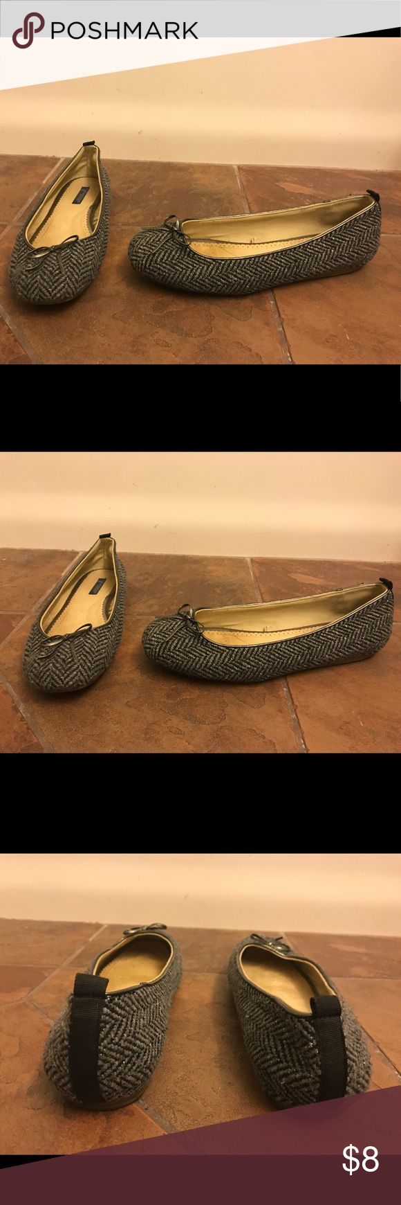 American Eagle Outfitters Tweed Chevron Flats--9 American Eagle Outfitters Tweed Chevron Flats.  Size 9 American Eagle Outfitters Shoes Flats & Loafers
