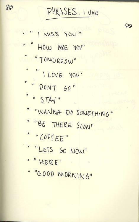 Phrases.