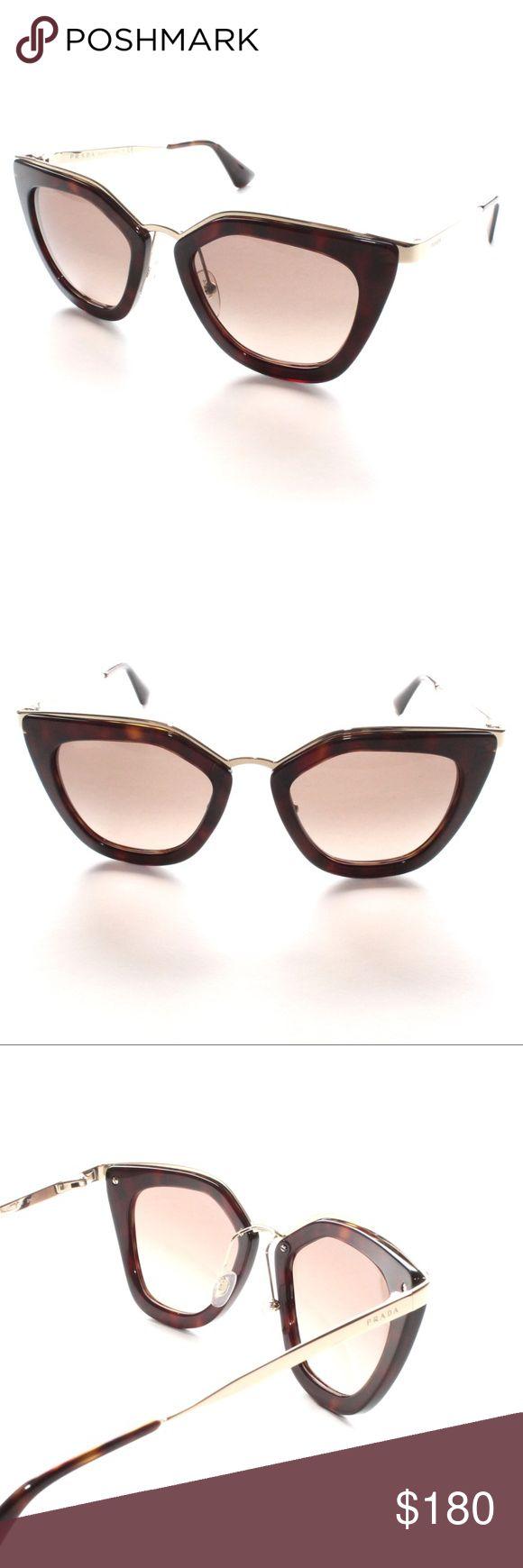 PRADA PR 53S 2AU-3D0 GOLD GRADIENT PR53S SUNGLASSE Brand New 100% AUTHENTIC PRADA PR 53S 2AU-3D0 GOLD GRADIENT PR53S SUNGLASSES 52-21  Comes with Original Prada Case, NO Pouch Prada Accessories Sunglasses