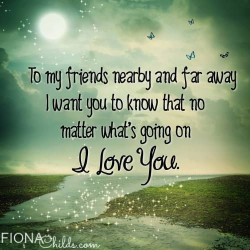 I Love You Friendship Quotes: 1000+ Images About Best Friend On Pinterest