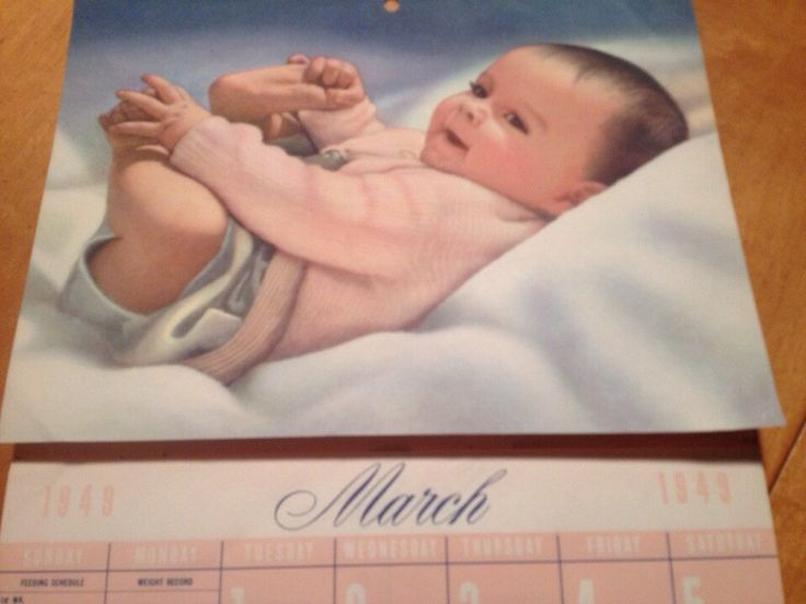 1940s Heinz Baby Diary & Calendar 1949-1950 Heinz Baby Calendar Vintage Nursery Decor by Retroland on Etsy https://www.etsy.com/listing/179231388/1940s-heinz-baby-diary-calendar-1949