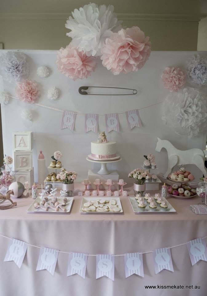 Decoración para baby shower.