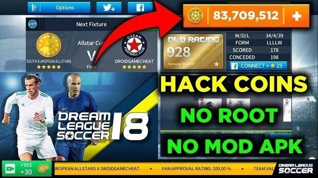 Download Dream League Soccer 2019 Mod Apk Obb Unlimited Money Game Cheats Download Games Install Game