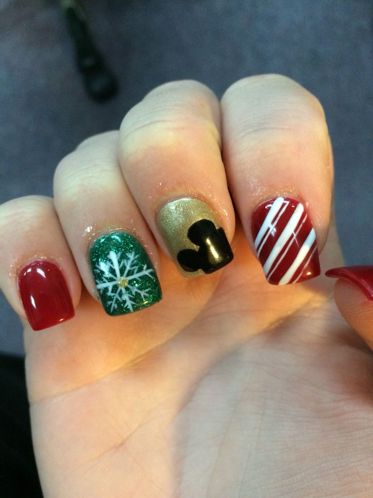 Best 25 disney christmas nails ideas on pinterest diy disney disney christmas nails prinsesfo Gallery
