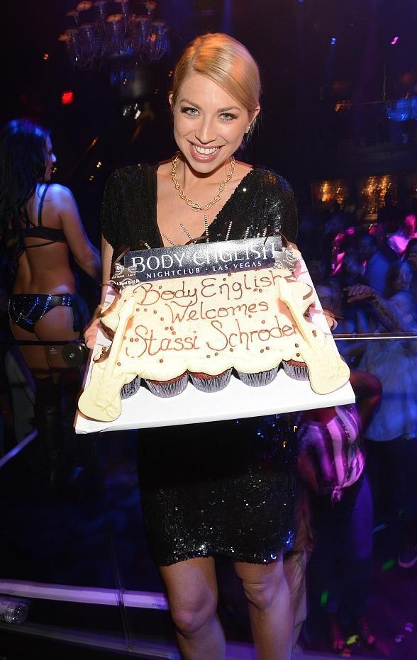 "Stassi Schroeder of BRAVO's ""Vanderpump Rules"" Parties at Body English Nightclub in Las Vegas (Photo: © Scott Harrison/ RETNA/ www.harrisonphotos.com)"