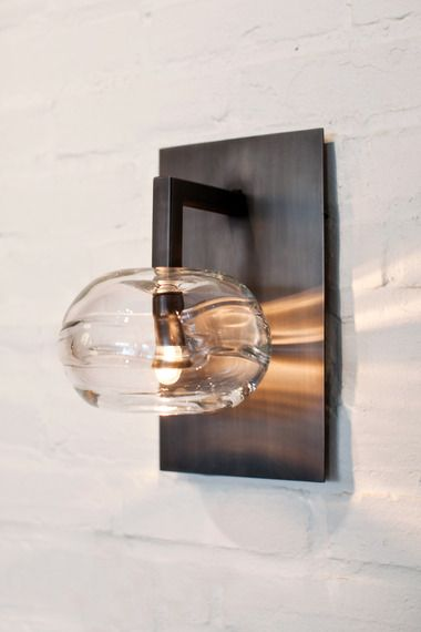 Buy CLEAR BAND SCONCE by John Pomp - Wall - Lighting - Dering Hall