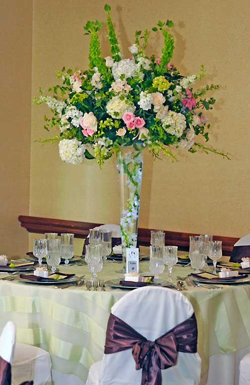 Best images about tall centre pieces on pinterest