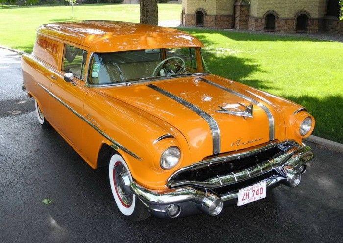 Hemmings Find of the Day – 1956 Pontiac Pathfinder sedan delivery