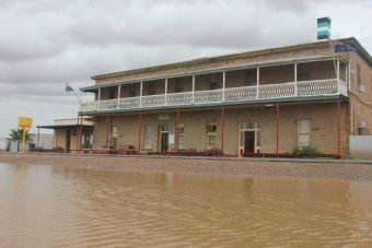 Flooding in Marree