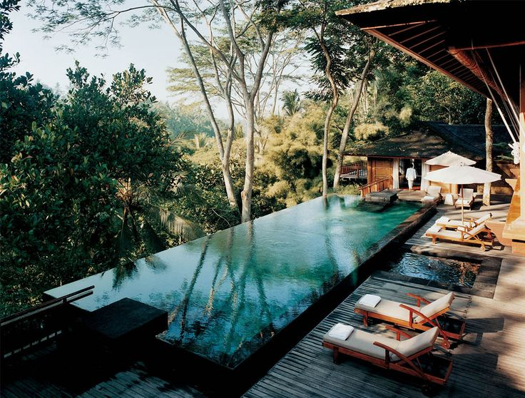 Tucked between rice fields, jungles and rivers, these luxurious villas in Ubud, Bali are hard to resist.