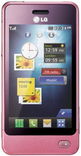 LG POP GD510 Baby Pink Unlocked Sim Free Mobile Phone