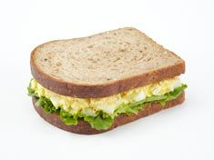 Why do I forget about Egg Salad?? Made with 4 eggs + 2 whites for 3 WW points +  (About 1/2 cup per serving, makes 4 servings)