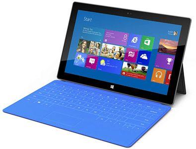 Windows 8 Surface PRO tablet