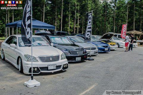 Car Project Soukokai em Mikawa O evento contou com a participação de pilotos de várias regiões, exposição de carros do grupo Zero Gravity e pista de Rc Drift montada pelo grupo Slow Freaks.
