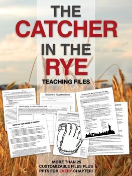 teaching catcher in the rye pdf