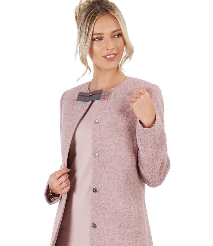 A coat to remember! #fall17 #pink #wool #colddays #autumn #beauty #fashion #women #yokko #madeinromania