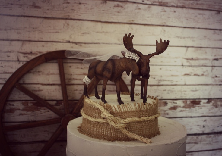 hunting wedding cake toppers canada 17 best moose images on animals elk 16214