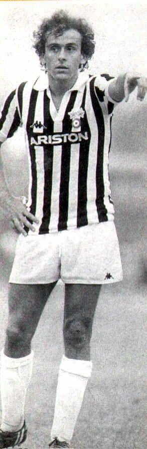 Juventus - Michel François Platini. Genius, arrogant, artist.