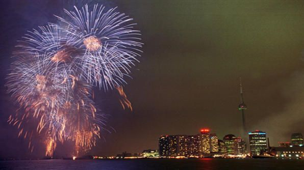 Check out Toronto's waterfront on New Year's Eve!